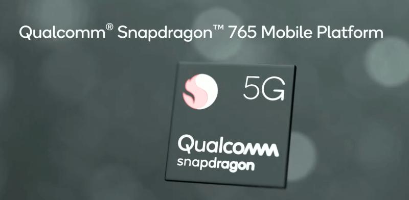 Snapdragon 765 c поддержкой 5G